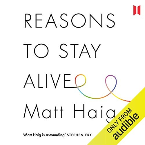 Audible UK Reasons to Stay Alive by Matt Haig Link Thumbnail | Linktree