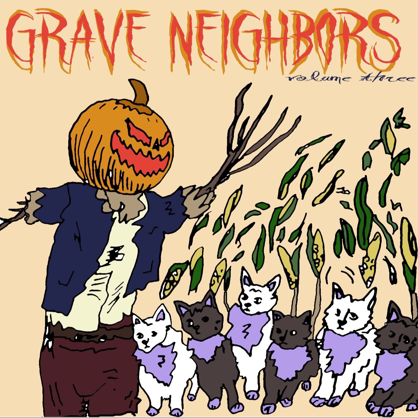 Grave Neighbors Vol 3 Charity Comp for Raicestexas.org on Middle-Man records