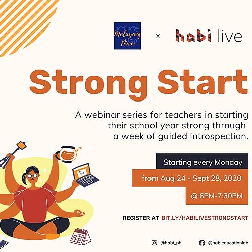 @malayangdiwa.co Malayang Diwa + HABI Education Lab: Strong Start - Teacher well-being series Link Thumbnail | Linktree