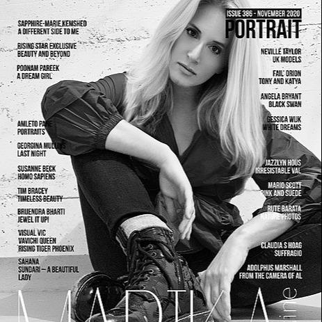 @VaVichiroyalty Marika Magazine Feature Link Thumbnail   Linktree