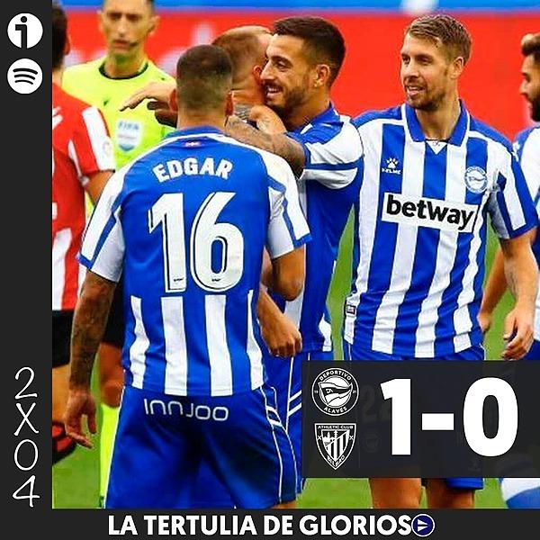 🎙️ 2x04   Tertulia del Alavés 1-0 Athletic