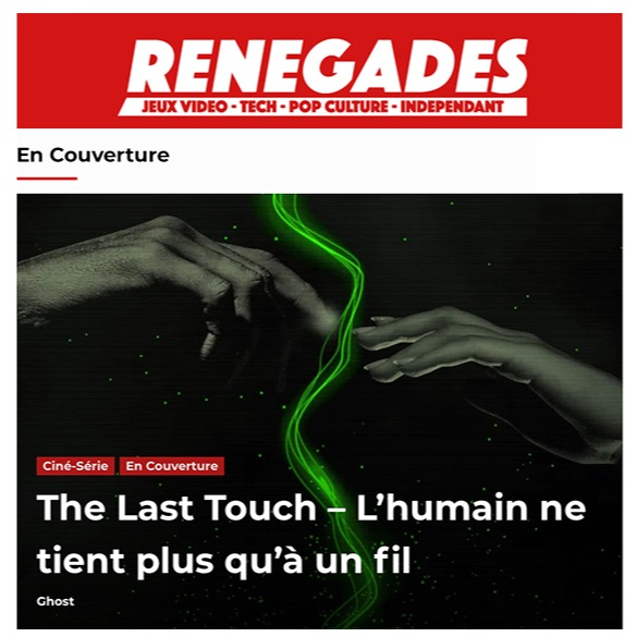 @madeinmars RENEGADES reviews THE LAST TOUCH (in French) Link Thumbnail | Linktree
