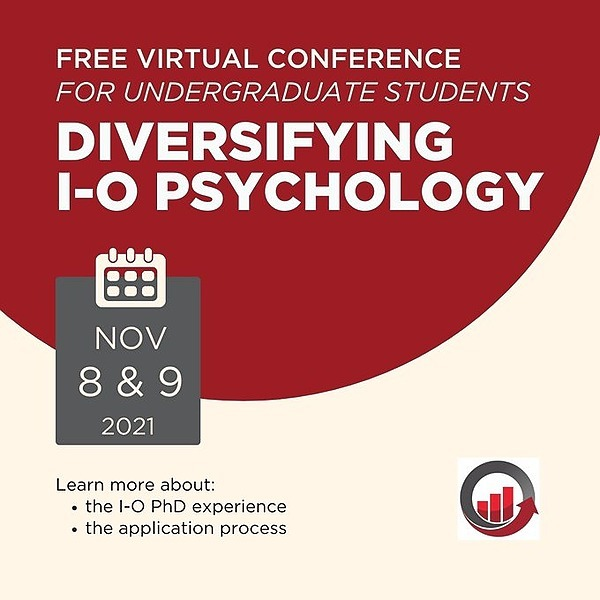 @SIOP_BB Free Virtual SIOP Conference for Racial/Ethnic Minority Undergraduates Interested in an I-O PhD (Nov. 8th & 9th) Link Thumbnail   Linktree