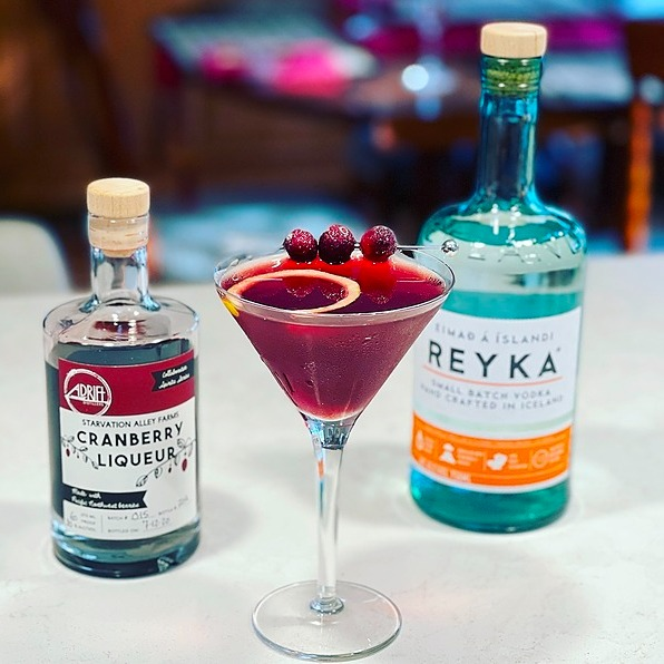 The Pacific Drift – An Exquisite Cranberry Martini