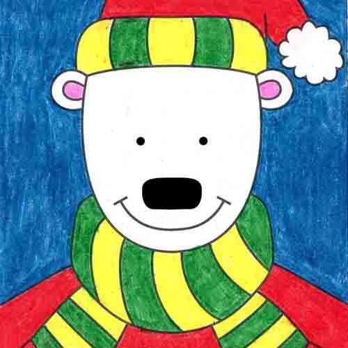 @artprojectsforkids Draw a Cartoon Bear Link Thumbnail   Linktree