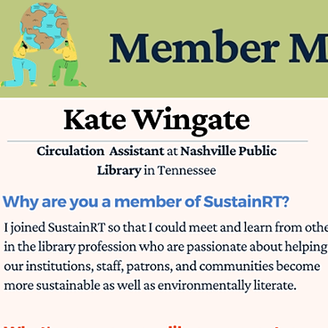 @alasustainrt Member Monday: Kate Wingate Link Thumbnail   Linktree