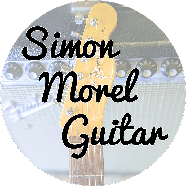 Simon Morel YouTube - Guitar Lessons, Gear Reviews, Backing Tracks Link Thumbnail | Linktree