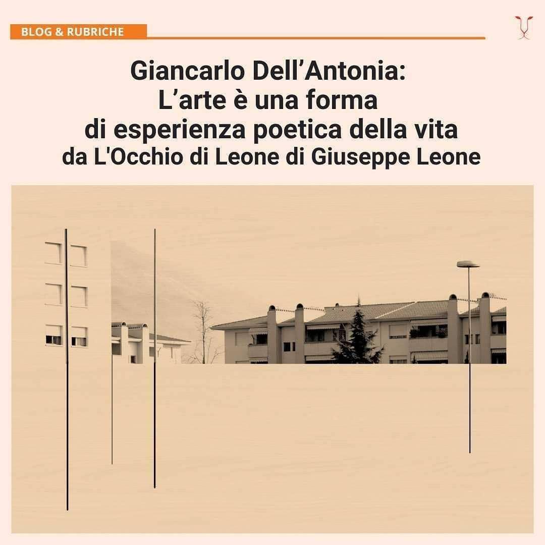 @AzzurraImmediato ILDENARO - Giancarlo Dell'Antonia: L'arte è una forma di esperienza poetica della vita Link Thumbnail | Linktree