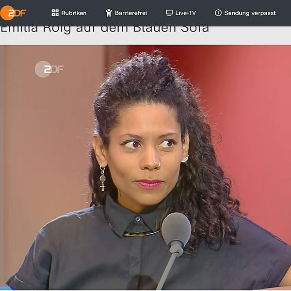 @emiliazenzile ZDF Das Blaue Sofa Link Thumbnail | Linktree