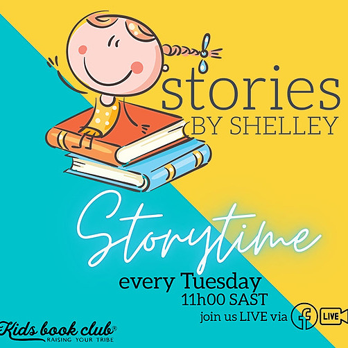 Stories by Shelley - LIVE Storytime every Tues 11am