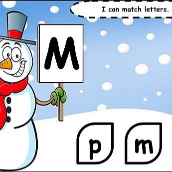 @WinterStorm Winter Letter Match Activity Link Thumbnail   Linktree