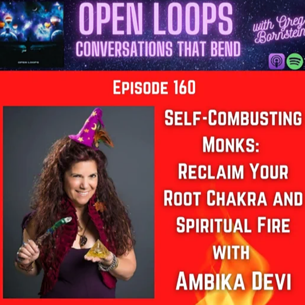 @AmbikaDevi Open Loops Podcast Interview Link Thumbnail | Linktree