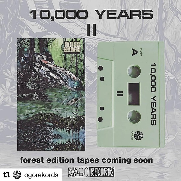"""@10000years """"II"""" Forest Edition cassette tape Link Thumbnail 