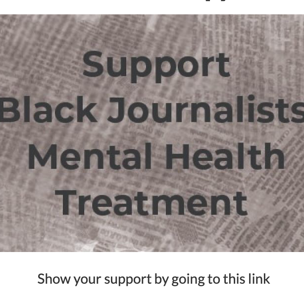 Black Journalists Therapy Relief Fund