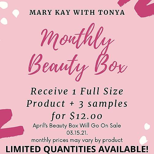 April Beauty Box! Sale Starts 3.15.21