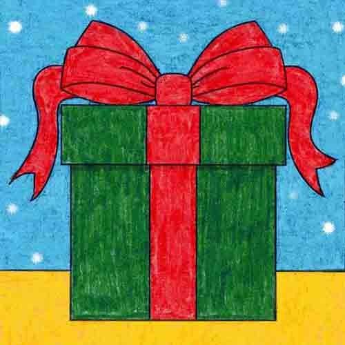 @artprojectsforkids Draw a Present Link Thumbnail   Linktree