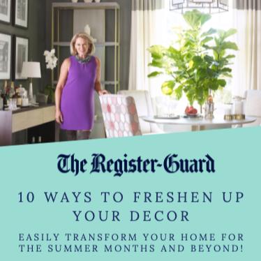 10 Ways To Freshen Up Your Decor