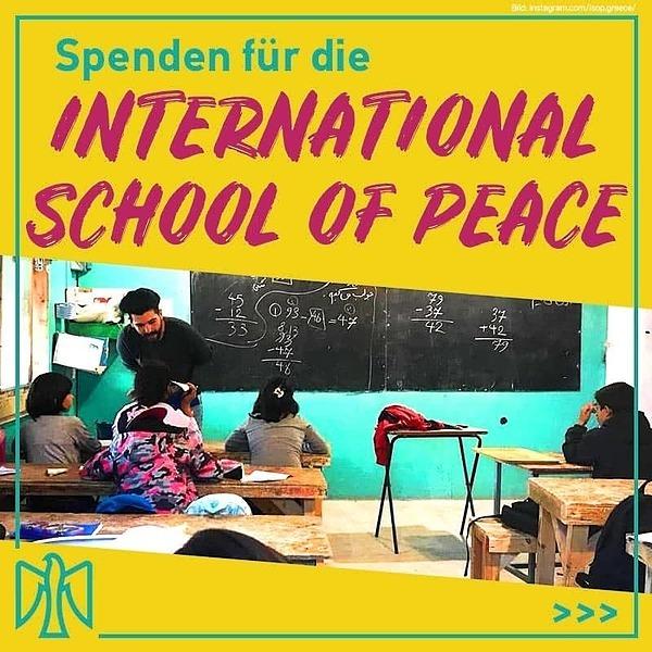Spendenkampagne für die International School of Peace (#ISOP) von Hashomer Hatzair Israel & Ajyal - bis HEUTE (06.05.)