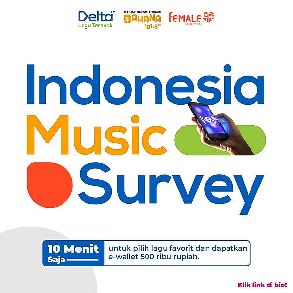 @femaleradio Indonesia Music Survey Link Thumbnail | Linktree