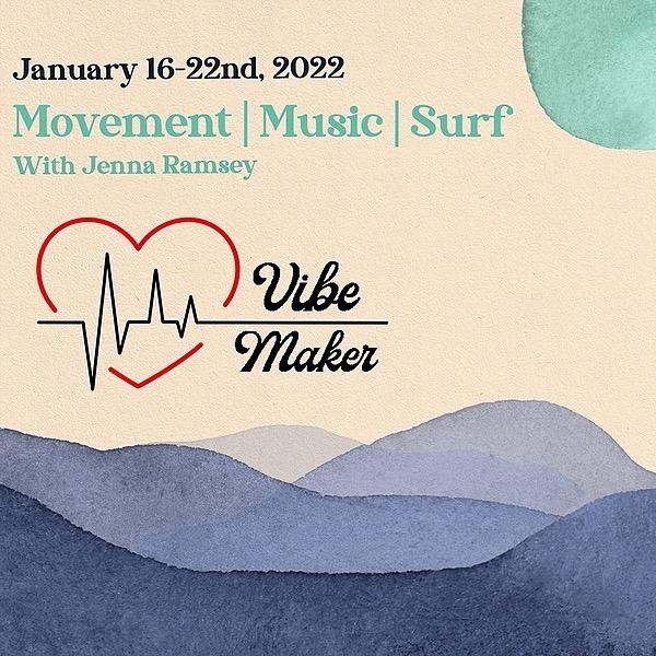 Room to Roam Vibe Maker International Retreat: Movement | Music | Surf | Adventure | Giving Back Jan 16-22nd, 2022 Link Thumbnail | Linktree
