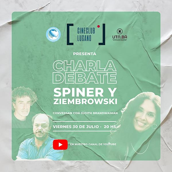 Cine Club Lugano Charla con Fernando Spiner Link Thumbnail   Linktree