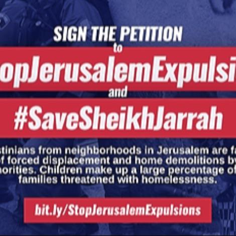 Palestine Solidarity Committee Halt the displacement of Palestinians Link Thumbnail | Linktree