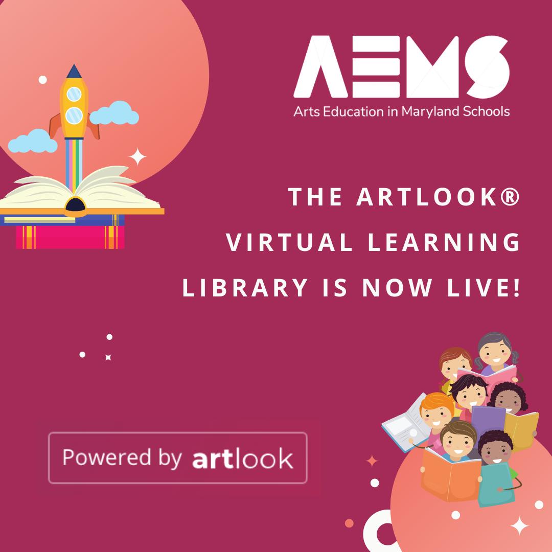 @AEMS artlook® Virtual Learning Library Link Thumbnail | Linktree