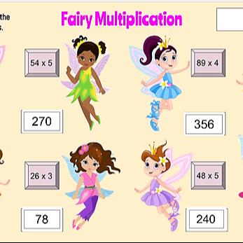Fairy Multiplication