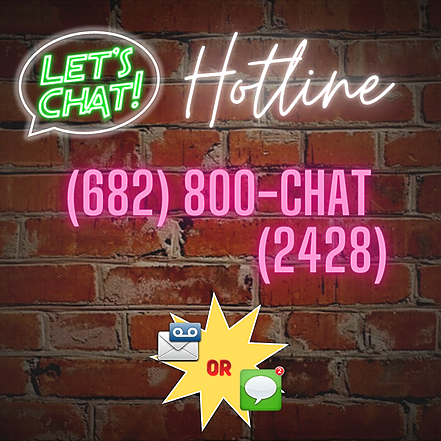 500 Section Lounge Podcast Let's Chat! Hotline (682)800-CHAT (2428) Link Thumbnail   Linktree
