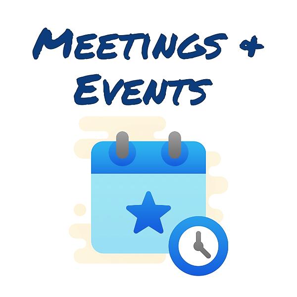 Upcoming Club Events Facebook Calendar