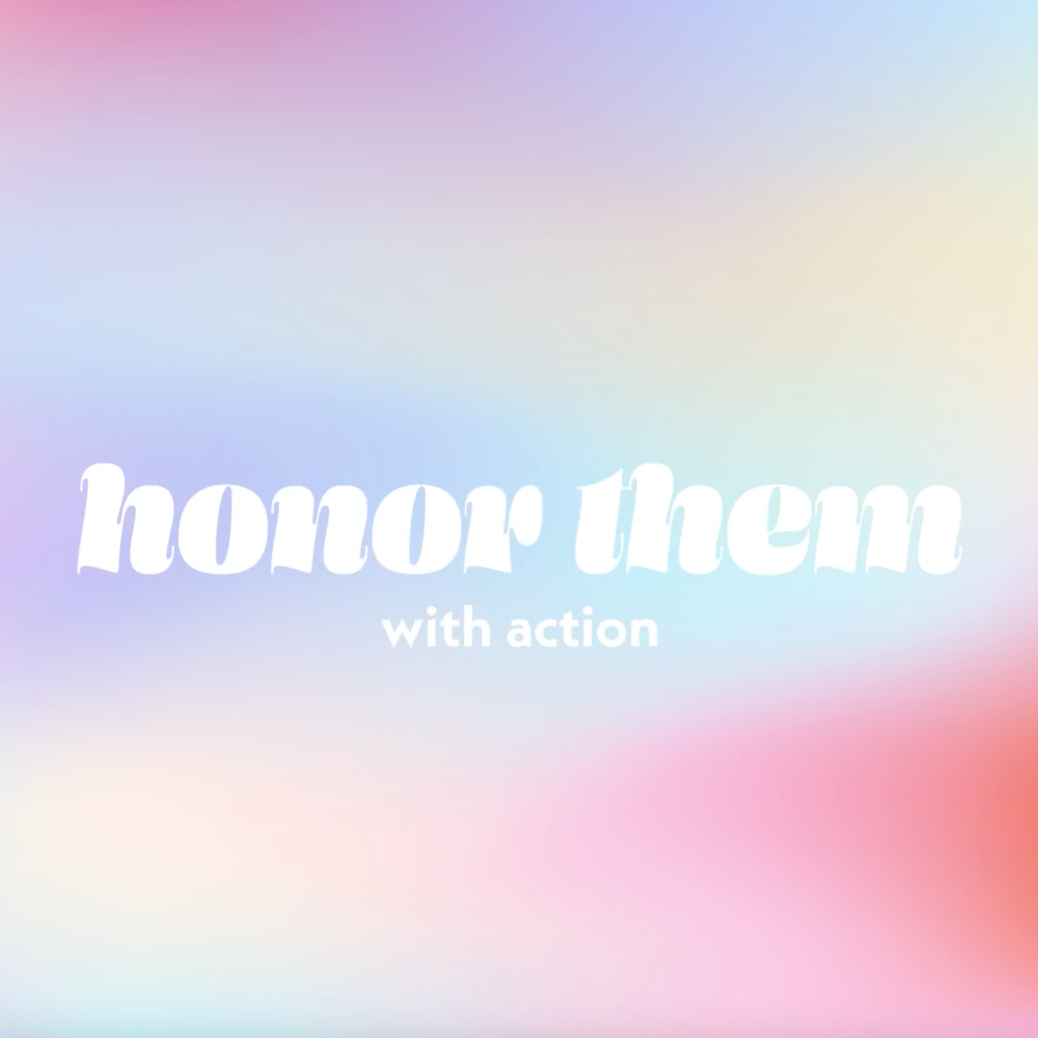 @adobespark Honor Them with Action Link Thumbnail | Linktree