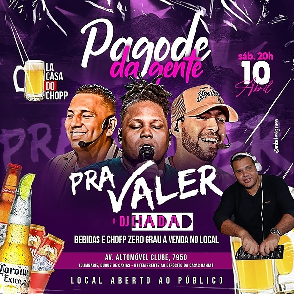 DJ HADAD PRA VALER E DJ HADAD Link Thumbnail | Linktree