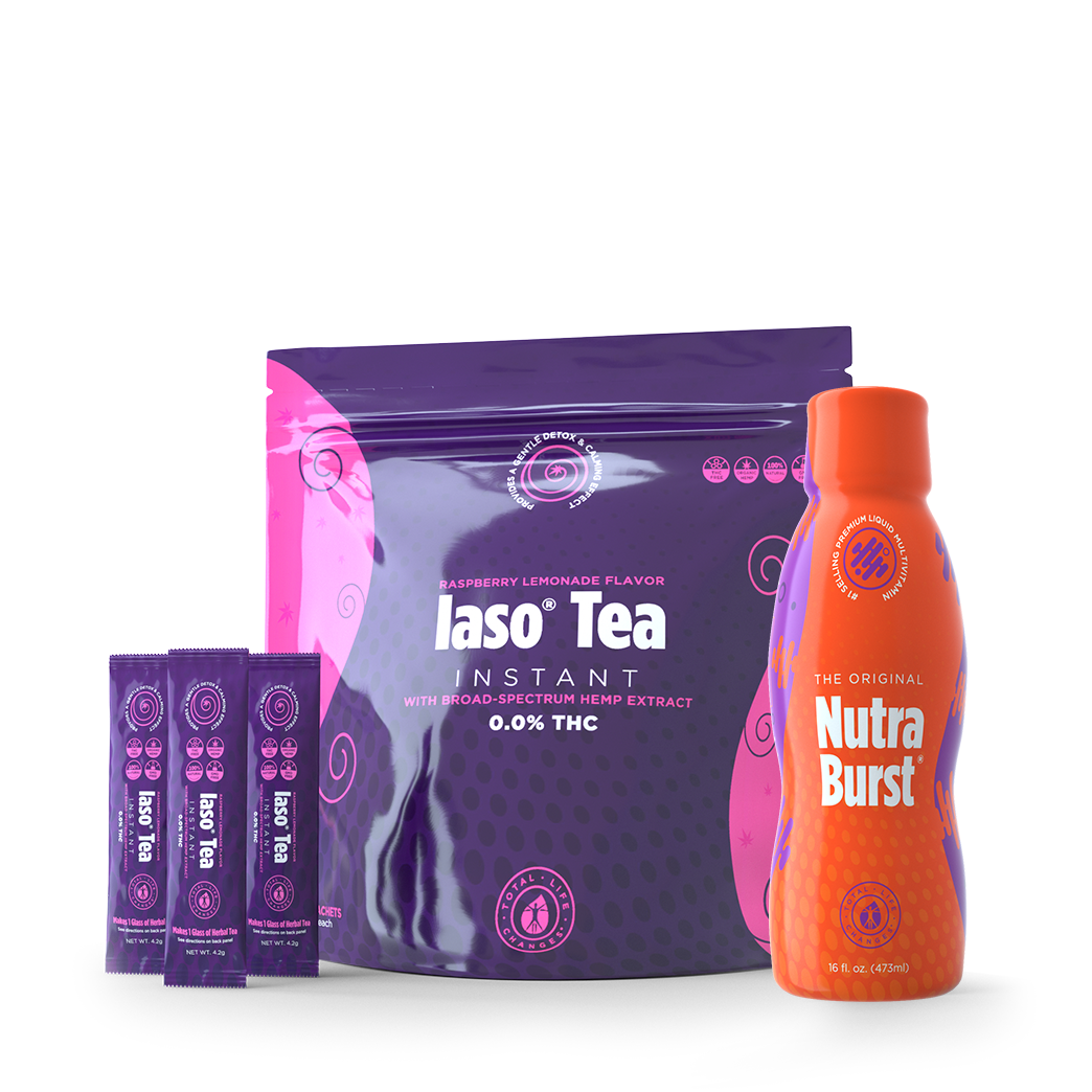 RASPBERRY DETOX TEA & NUTRABURST KIT