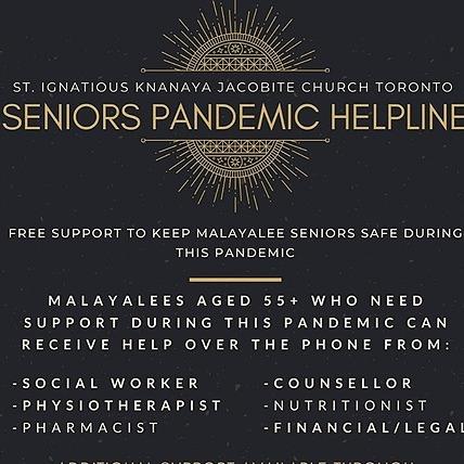 @stignatiousseniors Seniors Pandemic Helpline Link Thumbnail | Linktree