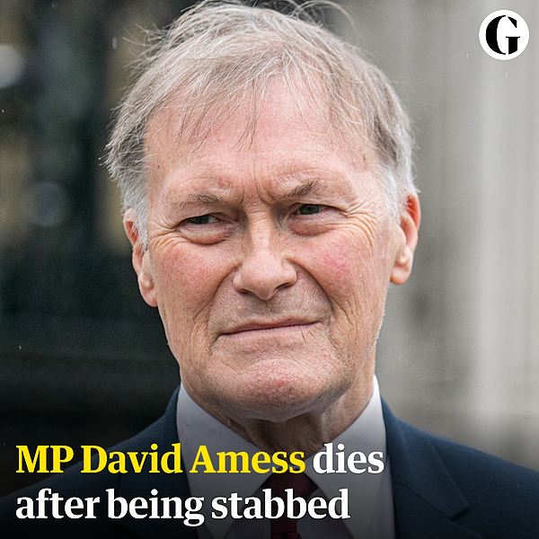 @guardian David Amess: tributes paid after Conservative MP dies in stabbing attack – latest updates Link Thumbnail | Linktree