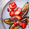 Grilled Bananas with Cinnamon and Chocolate Recipe