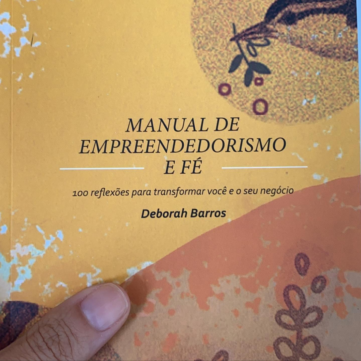 @deborahbarros LIVRO -                          Manual de Empreendedorismo e Fé. Link Thumbnail | Linktree