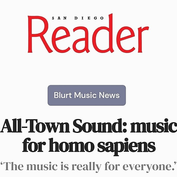 All-Town Sound San Diego Reader Article  Link Thumbnail | Linktree