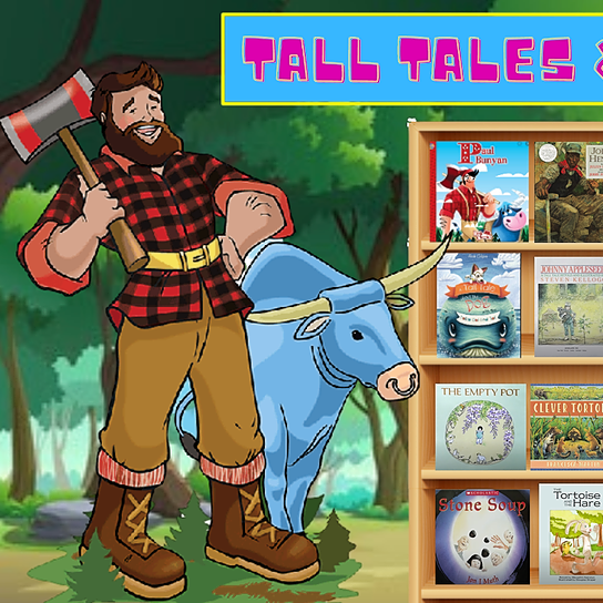 Miss Hecht Teaches 3rd Grade Tall Tales & Folktales Link Thumbnail | Linktree