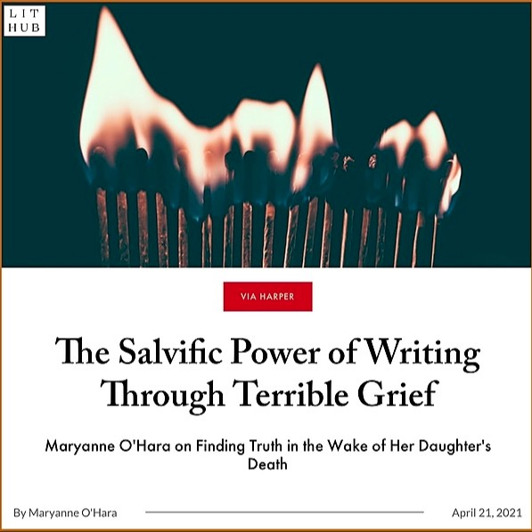 @maryanneohara LitHub: The Power of Writing Through Grief by Maryanne O'Hara Link Thumbnail   Linktree