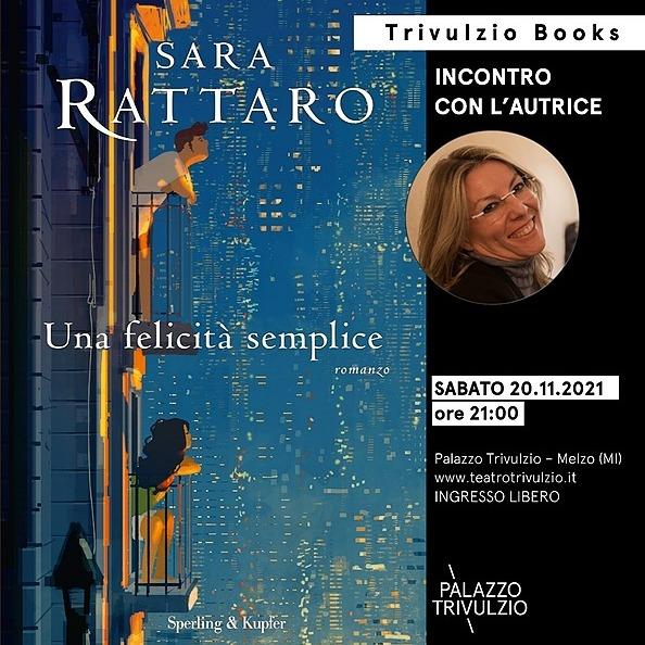 Teatro Trivulzio - Melzo TRIVULZIO BOOKS - Sara Rattaro Link Thumbnail | Linktree