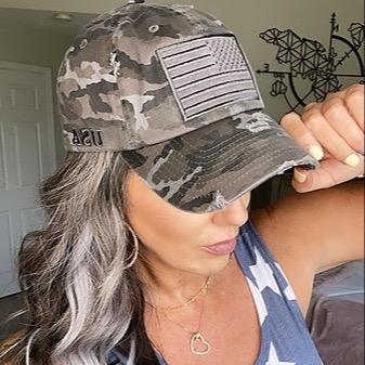 MIRANDA PARKER Distressed USA Hats (code: MIRANDA) Link Thumbnail   Linktree