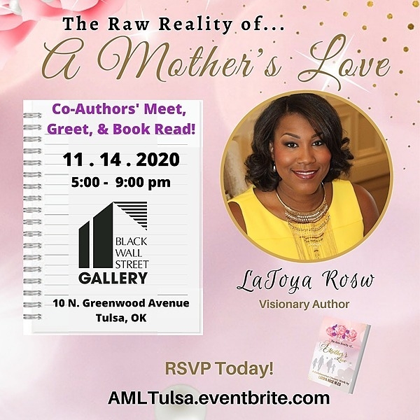 """The Raw Reality of A Mother's Love"" - Buy a signed book"