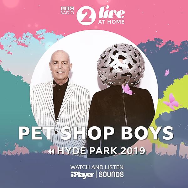 Listen to Pet Shop Boys live at R2 Hyde Park 2019