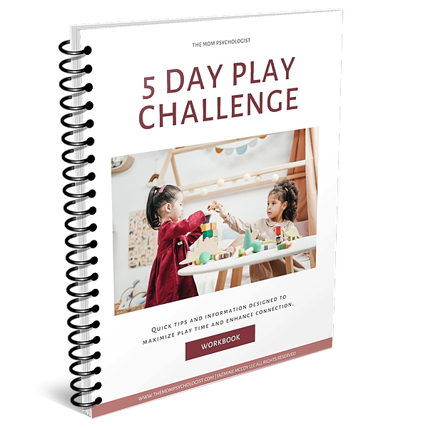 The Mom Psychologist FREE Play Challenge Workbook Link Thumbnail | Linktree