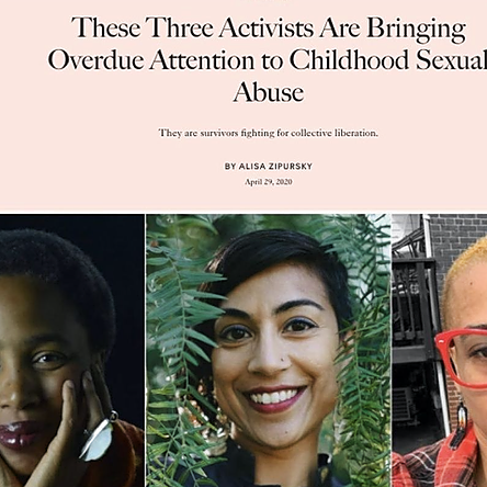 @afrolez These Three Activists Are Bringing Overdue Attention to Childhood Sexual Abuse Link Thumbnail | Linktree