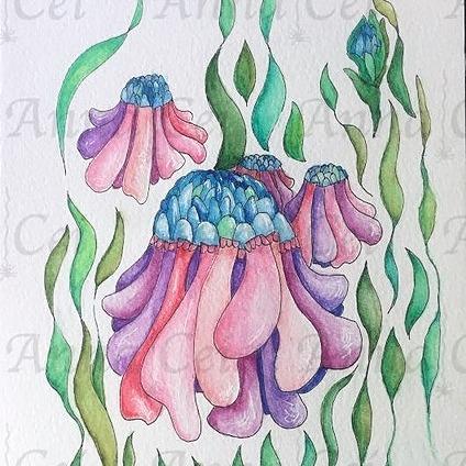 @thepinkspiderweb Artist Anna Cei on Facebook Link Thumbnail   Linktree