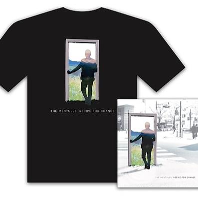 The Mentulls - T Shirt Items Pre Order 'Recipe For Change' Vinyl & T Shirt Bundle Link Thumbnail | Linktree