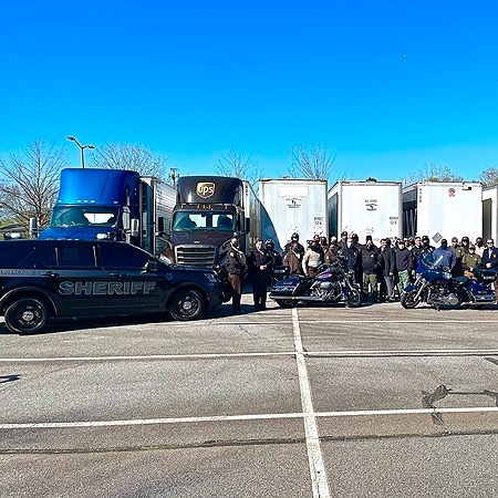 Fulton County Sheriff Metro Law Enforcement Agencies Partner with Convoy of Care Link Thumbnail   Linktree