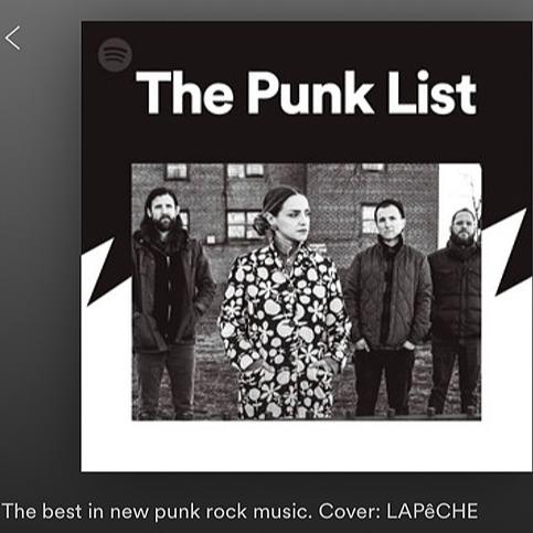 🎧 Spotify Playlist: The Punk List 🤘